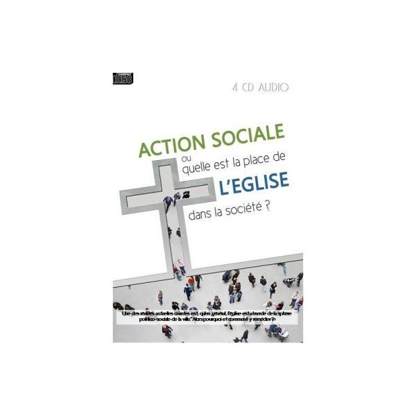 Action sociale ou quelle est la place de l'Eglise dans la société