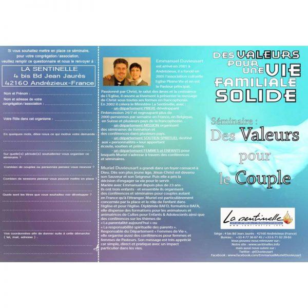 Trois valeurs pour un couple solide